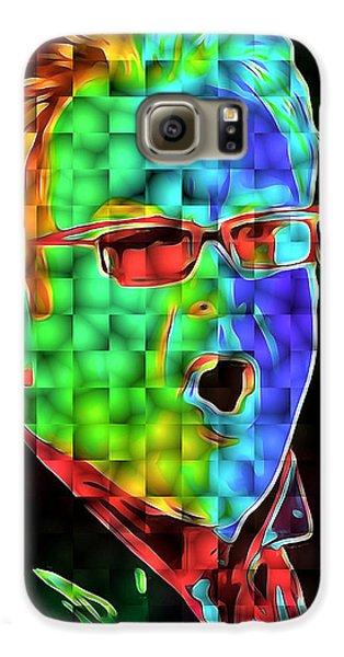 Elton John In Cubes 2 Galaxy S6 Case by Yury Malkov