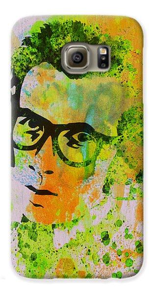 Elvis Presley Galaxy S6 Case - Elvis Costello by Naxart Studio