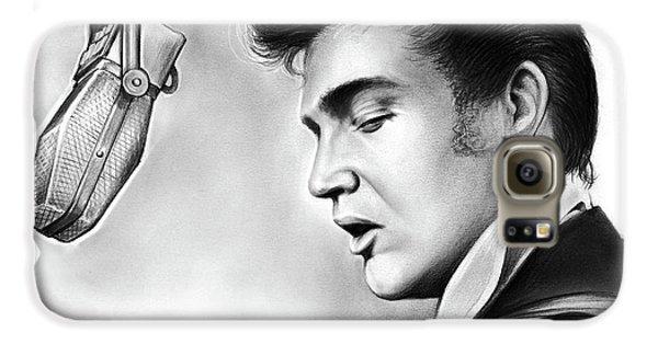 Rock And Roll Galaxy S6 Case - Elvis Presley by Greg Joens