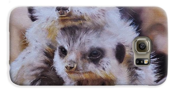 Meerkat Galaxy S6 Case - Embraced by Cherise Foster