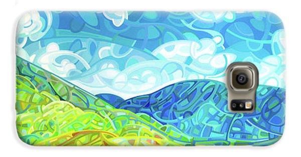 Emerald Moments Galaxy S6 Case by Mandy Budan