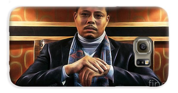 Empire's Terrance Howard As Lucious Lyon Galaxy S6 Case by Marvin Blaine