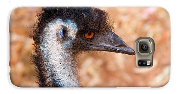 Emu Profile Galaxy S6 Case by Mike  Dawson
