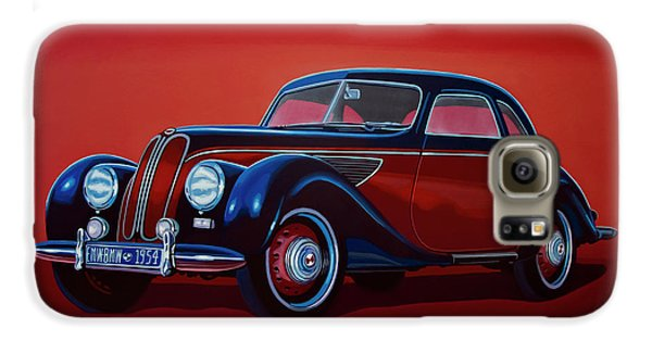 Emw Bmw 1951 Painting Galaxy S6 Case by Paul Meijering