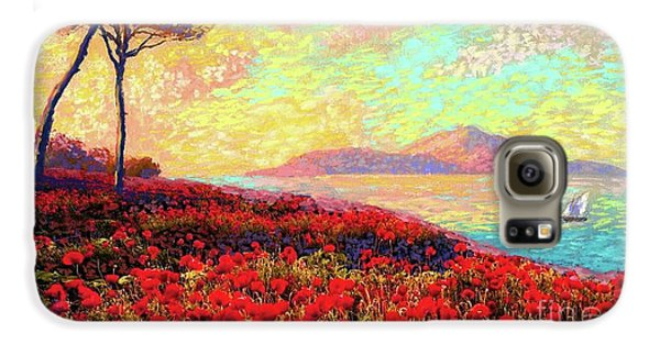 Enchanted By Poppies Galaxy S6 Case