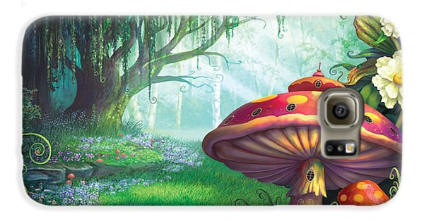 Enchanted Forest Galaxy S6 Case by Philip Straub