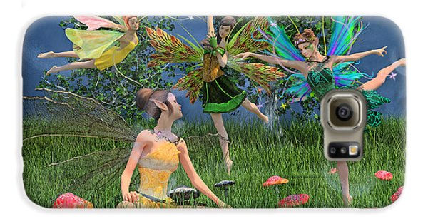 Elf Galaxy S6 Case - Enchanting Souls by Betsy Knapp