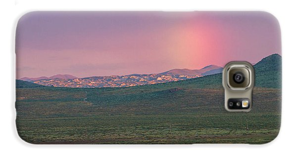 Galaxy S6 Case featuring the photograph End Of Rainbow by Hitendra SINKAR