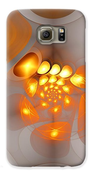 Galaxy S6 Case featuring the digital art Energy Source by Anastasiya Malakhova