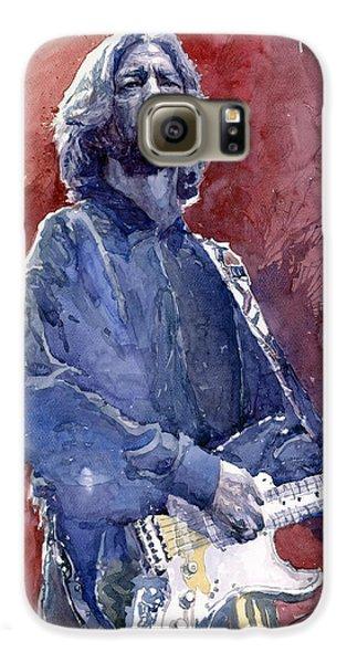 Eric Clapton 04 Galaxy S6 Case by Yuriy  Shevchuk