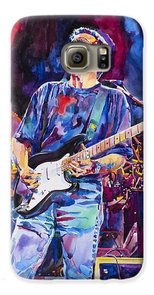 Eric Clapton And Blackie Galaxy S6 Case by David Lloyd Glover