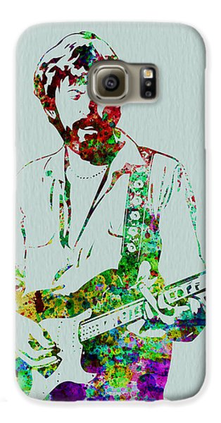 Eric Clapton Galaxy S6 Case by Naxart Studio