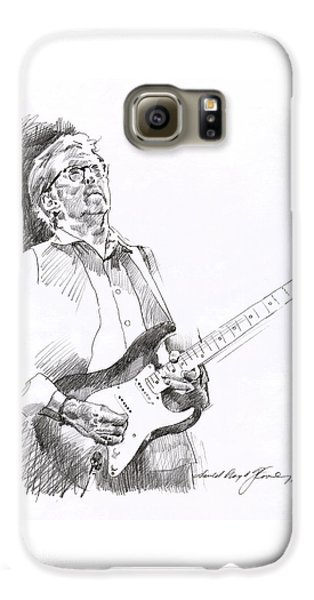 Eric Clapton Joy Galaxy S6 Case by David Lloyd Glover