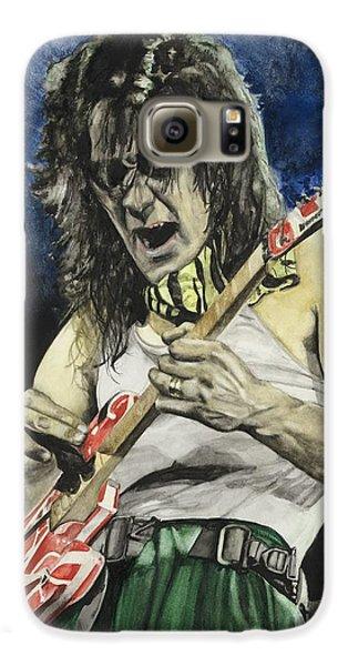 Van Halen Galaxy S6 Case - Eruption  by Lance Gebhardt