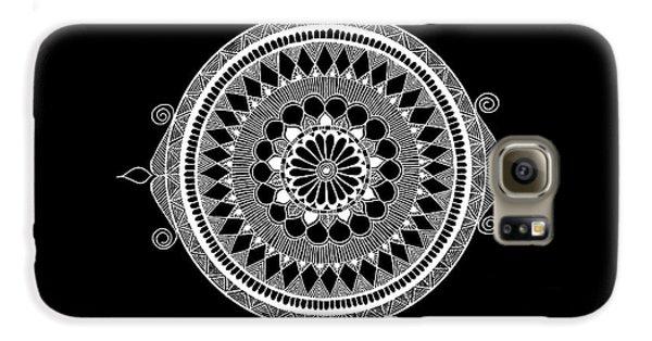 Galaxy S6 Case - Estrella Mandala by Anmol Jauher