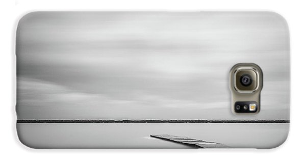 Ethereal Long Exposure Of A Pier In The Lake Galaxy S6 Case