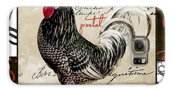 Europa Rooster IIi Galaxy S6 Case by Mindy Sommers