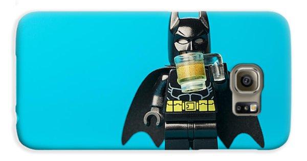 Bat Galaxy S6 Case - Even Batman Needs A Beer by Samuel Whitton