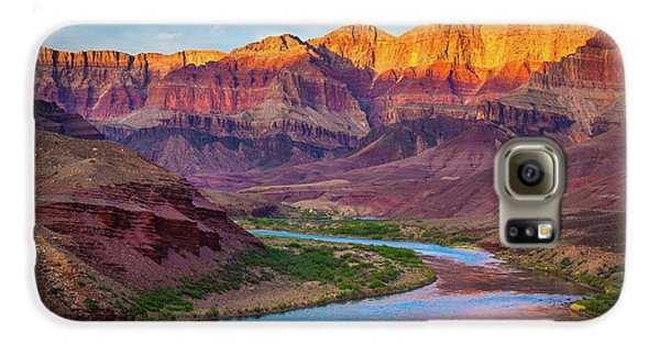 Mountain Galaxy S6 Case - Evening At Cardenas by Inge Johnsson