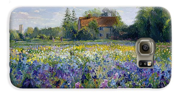 Evening At The Iris Field Galaxy S6 Case