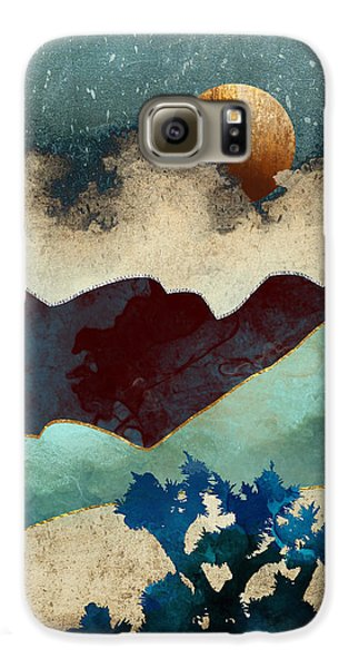 Landscapes Galaxy S6 Case - Evening Calm by Spacefrog Designs