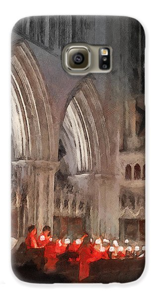 Evensong Practice At Wells Cathedral Galaxy S6 Case