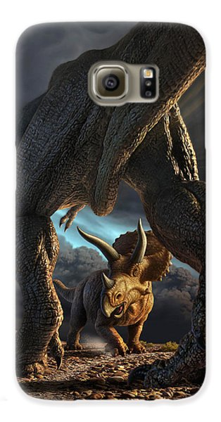 Extinct And Mythical Galaxy S6 Case - Face Off by Jerry LoFaro