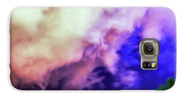 Nebraskasc Galaxy S6 Case - Faces In The Clouds 002 by NebraskaSC