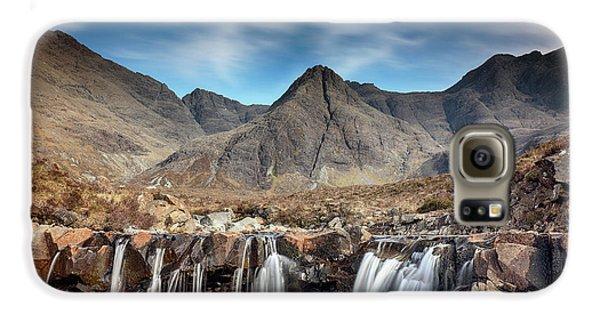Fairy Pools - Isle Of Skye Galaxy S6 Case by Grant Glendinning