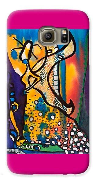 Fairy Queen - Art By Dora Hathazi Mendes Galaxy S6 Case
