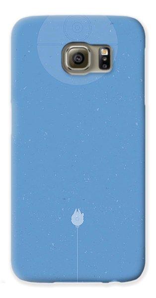 Falcon Galaxy S6 Case - Falcon Attack by Samuel Whitton