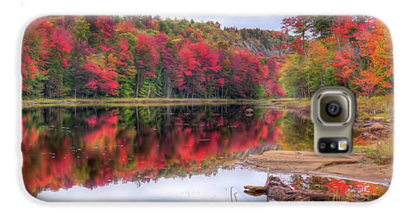 Galaxy S6 Case featuring the photograph Fall Color At The Pond by David Patterson