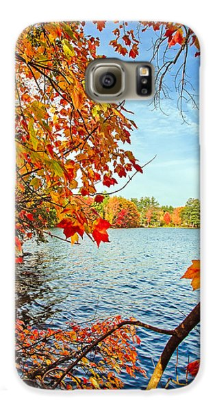 Fall On Lake Opechee Galaxy S6 Case