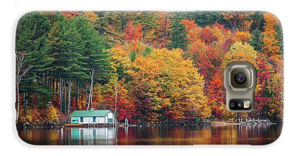 Fall On Lake Winnipesaukee Galaxy S6 Case