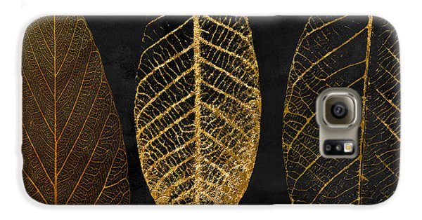 Flowers Galaxy S6 Case - Fallen Gold II Autumn Leaves by Mindy Sommers