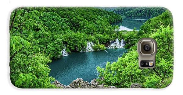 Falls From Above - Plitvice Lakes National Park, Croatia Galaxy S6 Case