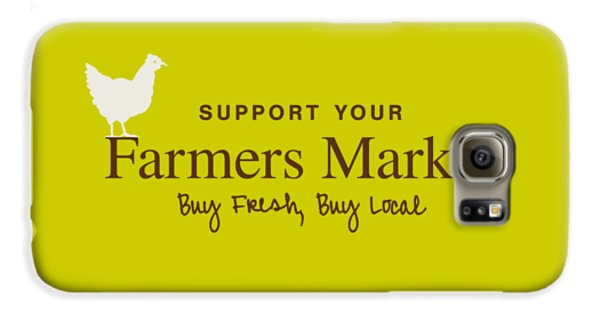 Farmers Market Galaxy S6 Case by Nancy Ingersoll