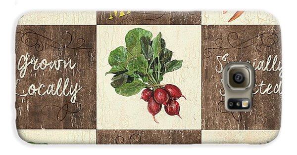 Farmer's Market Patch Galaxy S6 Case by Debbie DeWitt