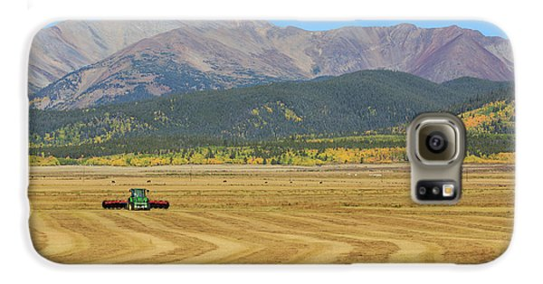 Farming In The Highlands Galaxy S6 Case by David Chandler
