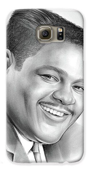 Drum Galaxy S6 Case - Fats Domino by Greg Joens