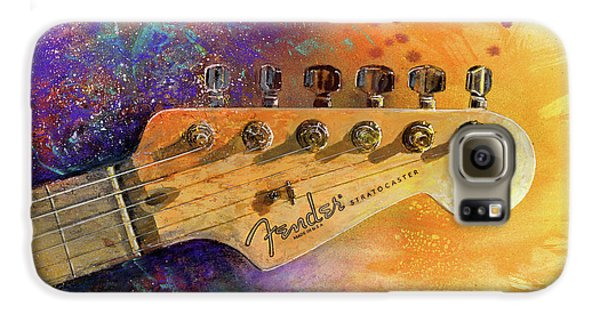 Fender Head Galaxy S6 Case by Andrew King