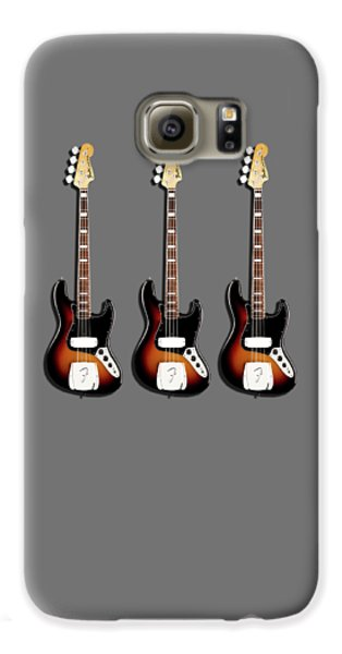 Fender Jazzbass 74 Galaxy S6 Case by Mark Rogan