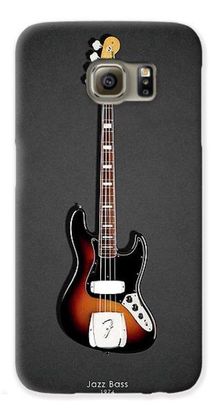 Guitar Galaxy S6 Case - Fender Jazzbass 74 by Mark Rogan