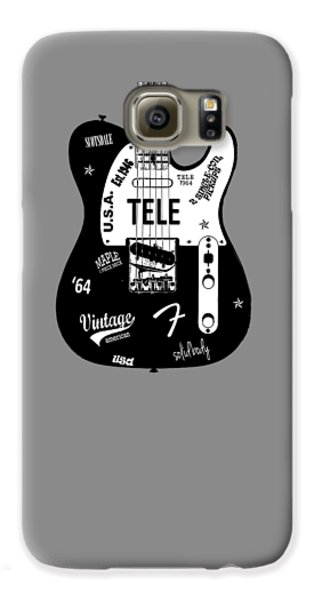Fender Telecaster 64 Galaxy S6 Case by Mark Rogan