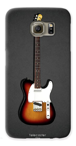 Rock And Roll Galaxy S6 Case - Fender Telecaster 64 by Mark Rogan