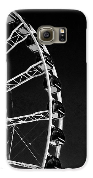 Ferris Wheel At Navy Pier, Chicago No. 1-2 Galaxy S6 Case by Sandy Taylor