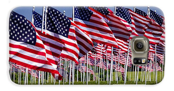 Field Of Flags For Heroes Galaxy S6 Case