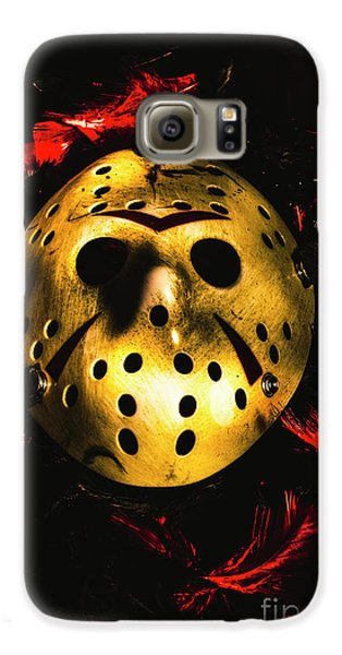 Hockey Galaxy S6 Case - Fields Of A Killers Wake by Jorgo Photography - Wall Art Gallery