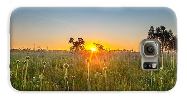 Inspirational Galaxy S6 Case - Fields Of Gold by Az Jackson