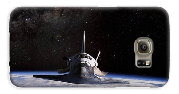 Final Frontier Galaxy S6 Case by Peter Chilelli